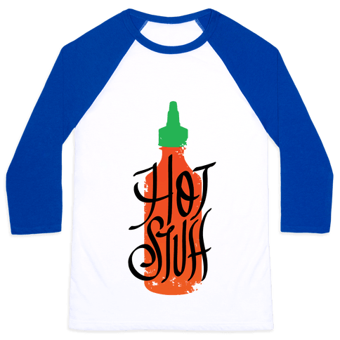 Hot Stuff Baseball Tee