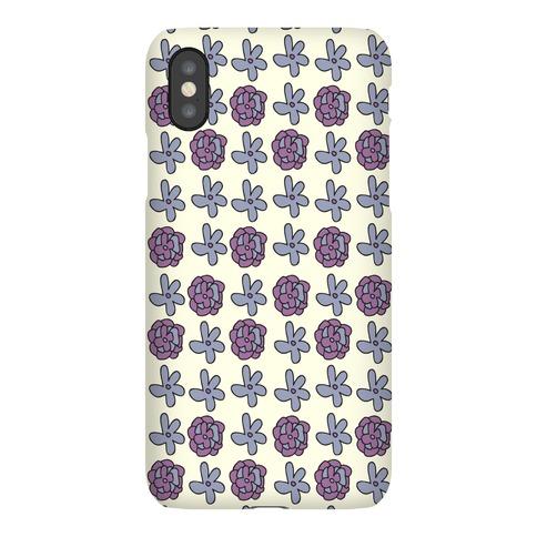 Doodle Flower Pattern Case Phone Case