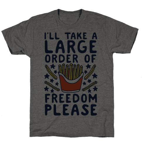 Large Order of Freedom Please