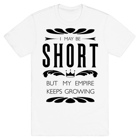Short Girl Empire Mens T-Shirt