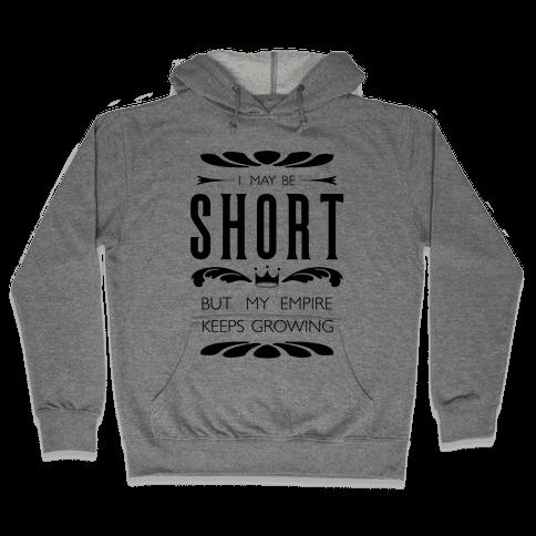 Short Girl Empire Hooded Sweatshirt