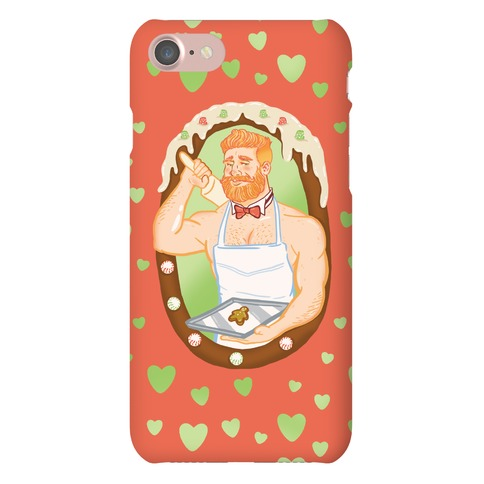 The Ginger Bread Man Phone Case
