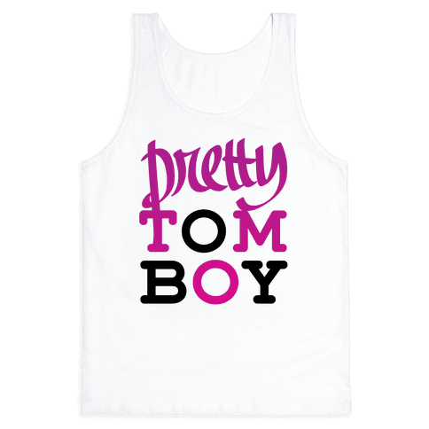 Pretty Tomboy Tank Top