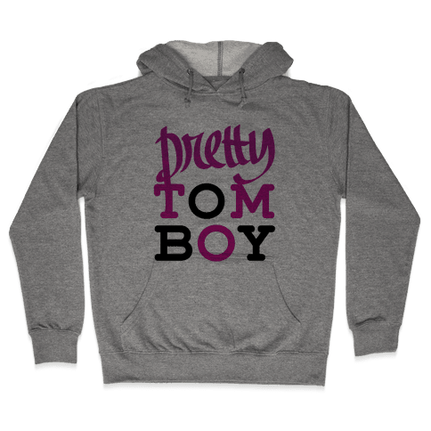 Pretty Tomboy Hooded Sweatshirt