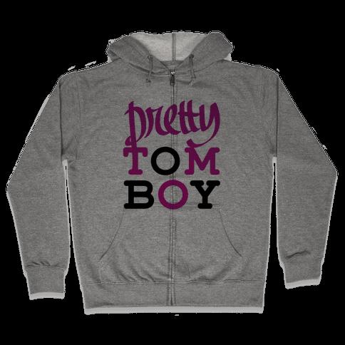 Pretty Tomboy Zip Hoodie