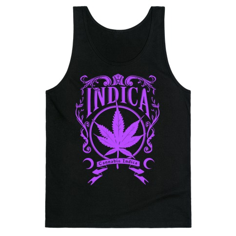 Cannabis Indica Tank Top