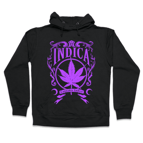 Cannabis Indica Hooded Sweatshirt