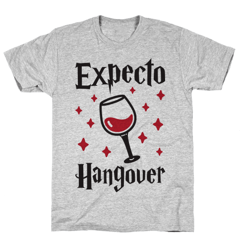 Expecto Hangover (Wine) Mens T-Shirt