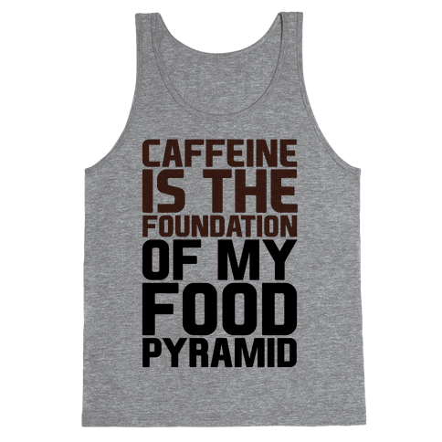 Caffeine Foundation Tank Top