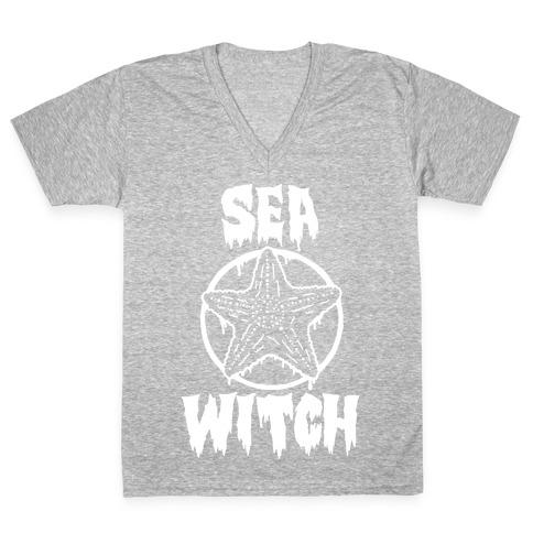 Sea Witch V-Neck Tee Shirt