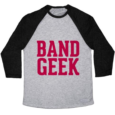 Band Geek Baseball Tee