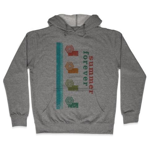 Summer Forever (Vintage) Hooded Sweatshirt