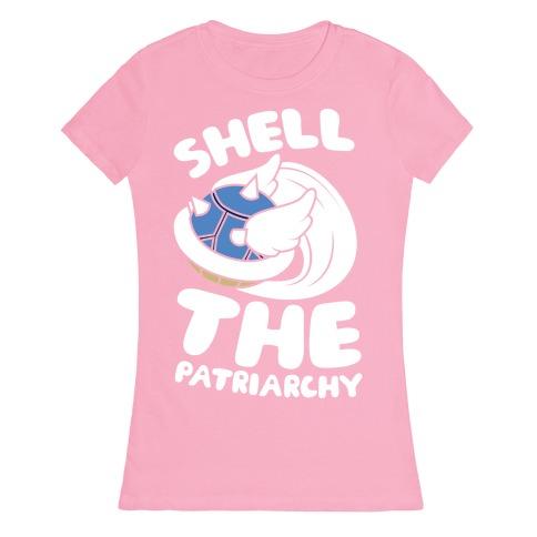 Blue Shell The Patriarchy Womens T-Shirt