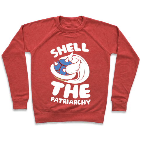 Blue Shell The Patriarchy Pullover