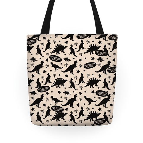 Curse Your Sudden But Inevitable Betrayal Pattern Tote