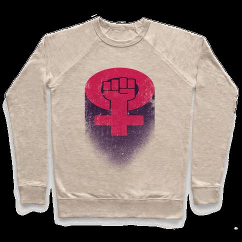 Feminism Symbol Pullover