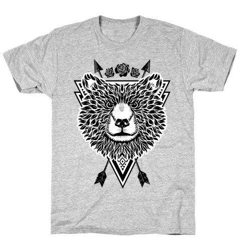 Indie Warrior Bear Mens T-Shirt