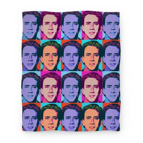 Nicholas Cage Blanket Parody Blanket