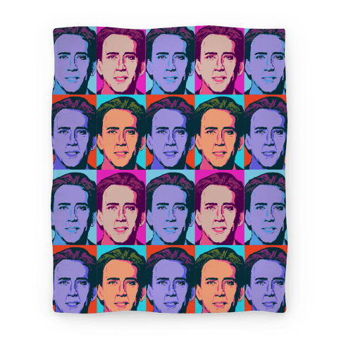 Nicholas Cage Blanket Parody