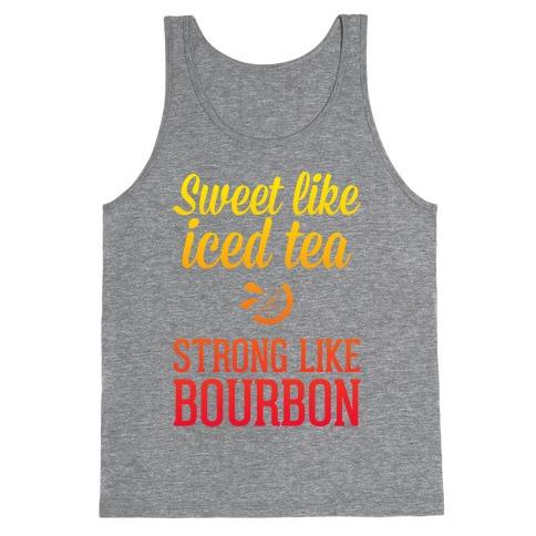 Iced Tea & Bourbon Tank Top