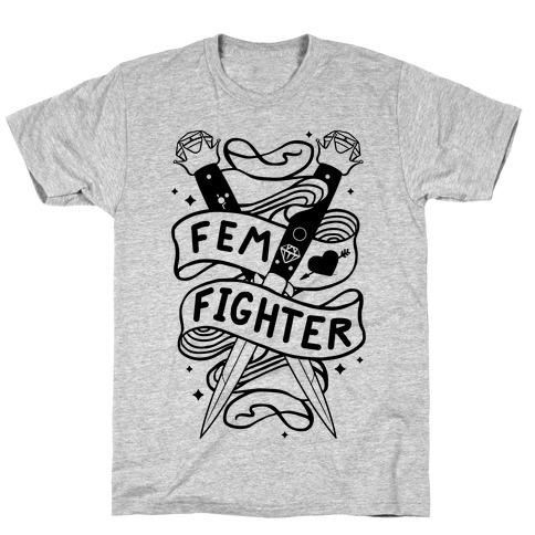 Fem Fighter T-Shirt