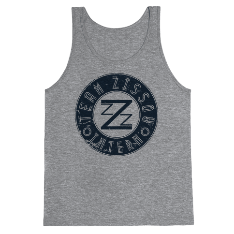 Team Zissou Intern Tank Top