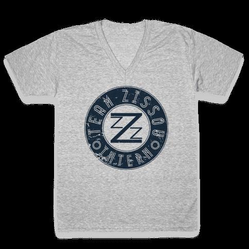 Team Zissou Intern V-Neck Tee Shirt