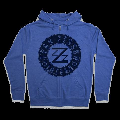 Team Zissou Intern Zip Hoodie