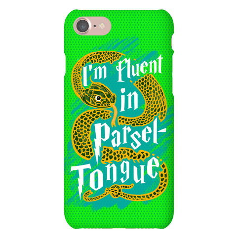 I'm Fluent in Parseltongue Phone Case