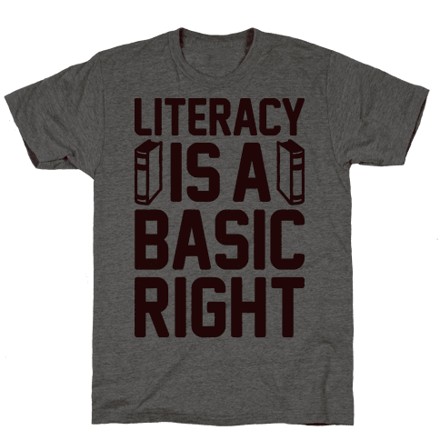 Literacy Is A Basic Right