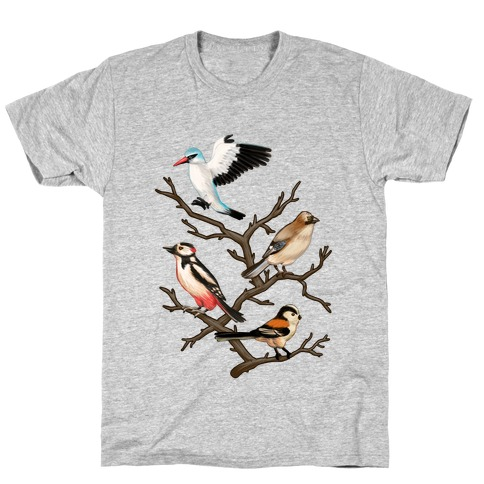 Woodland Birds T-Shirt