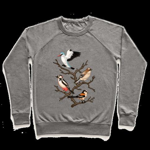 Woodland Birds Pullover