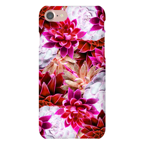 Pink Succulent Phone Case