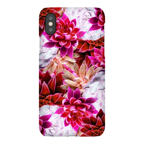 Pink Succulent Phone Case