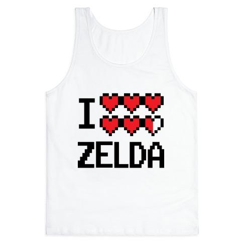 I Heart Zelda Tank Top