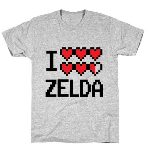 I Heart Zelda T-Shirt