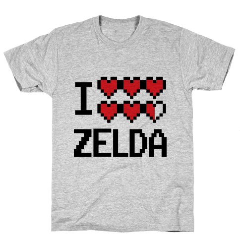 I Heart Zelda Mens T-Shirt