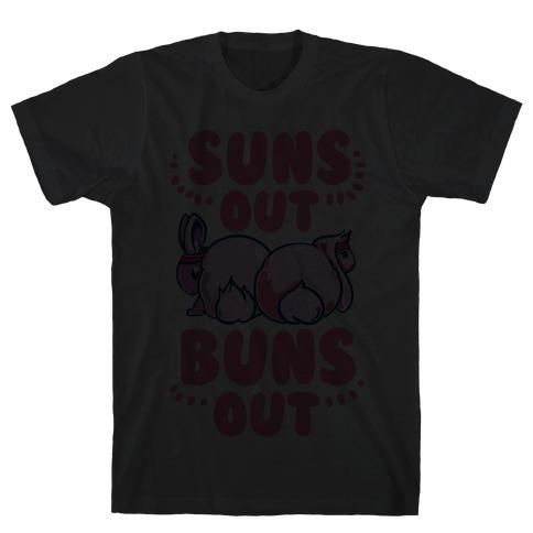 Suns Out, Buns Out! Mens T-Shirt