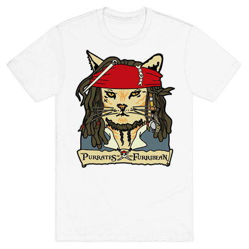 Cats of the Caribbean Mens T-Shirt