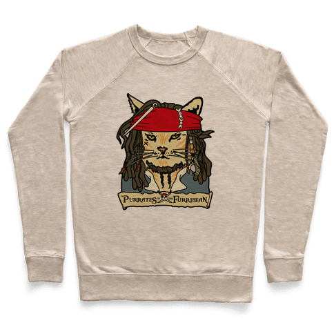 Cats of the Caribbean Pullover