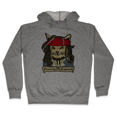 Cats of the Caribbean Hooded Sweatshirt
