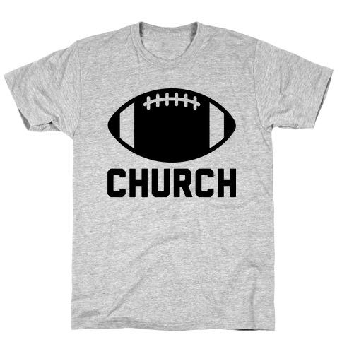 Football Church Mens T-Shirt