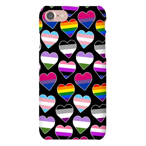 It's All Love Pattern Phone Case