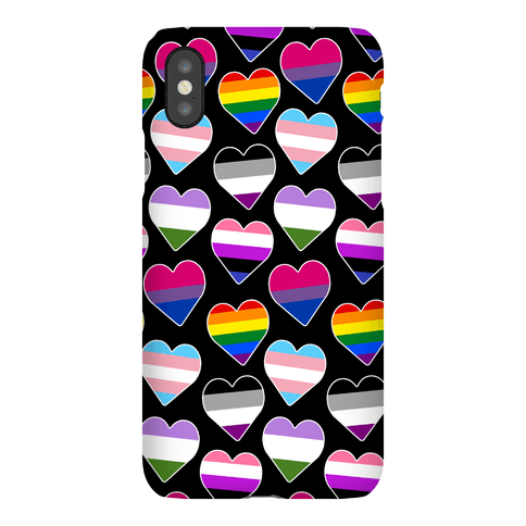 It's All Love Pattern Phone Case