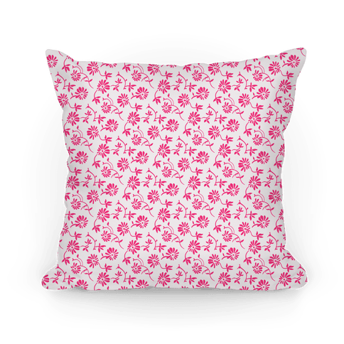 Pretty Little White and Pink Flowers Pattern