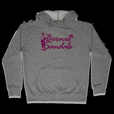 Bernie Sandals Hooded Sweatshirt