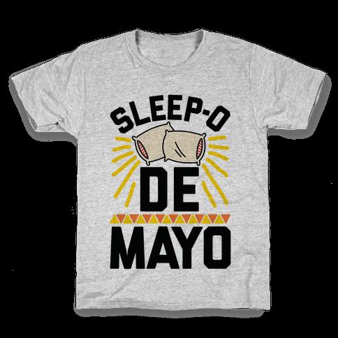 Sleep-o De Mayo Kids T-Shirt