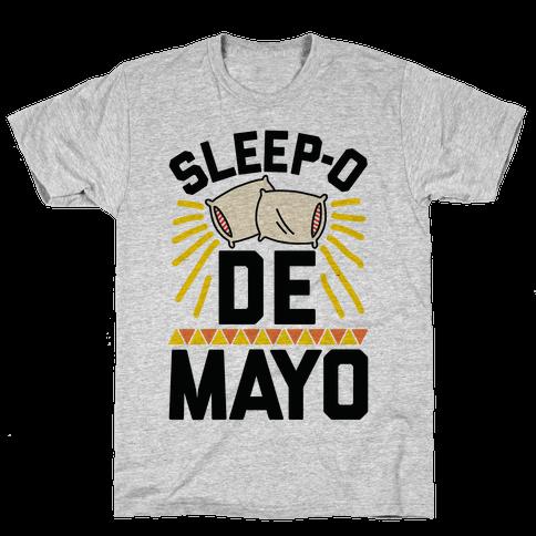Sleep-o De Mayo Mens T-Shirt
