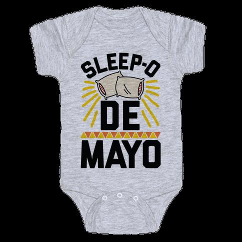 Sleep-o De Mayo Baby Onesy