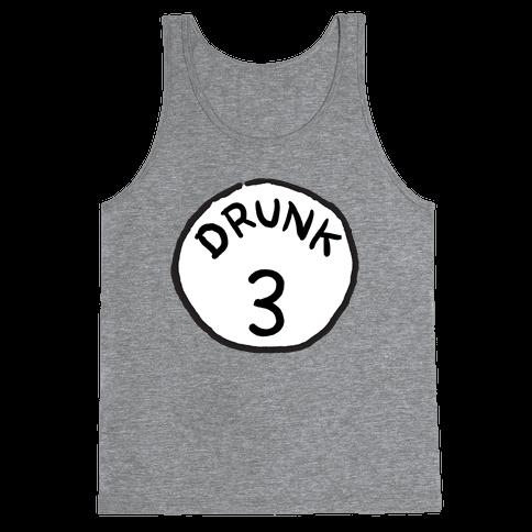 Drunk 3 Tank Top